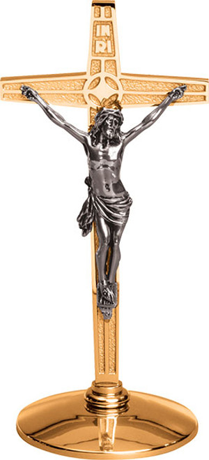 "#216 Altar Crucifix | 14""H 