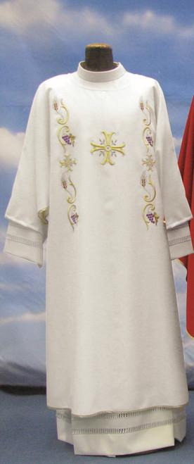#811 Decorative Grape Dalmatic | 100% Primavera Polyester