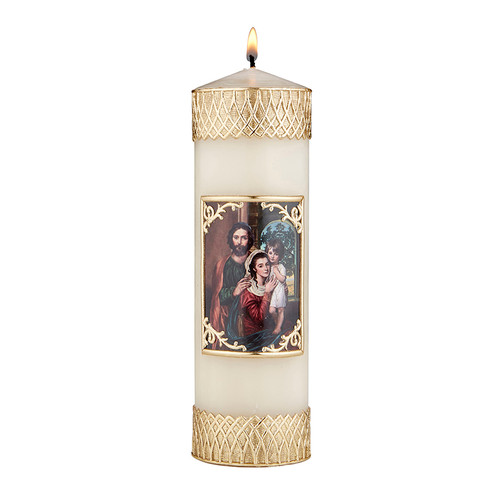"""8"""" Holy Family Devotional Candle 