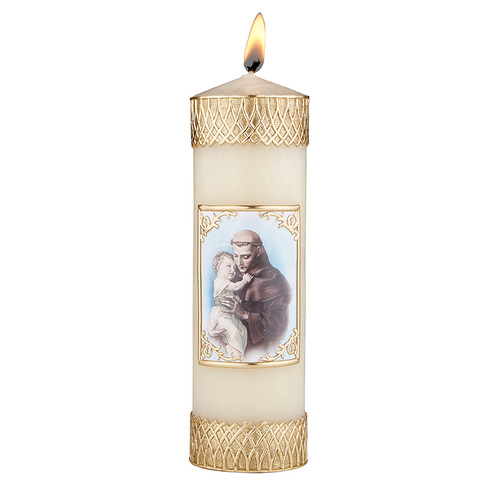 "8"" St. Anthony Devotional Candle 