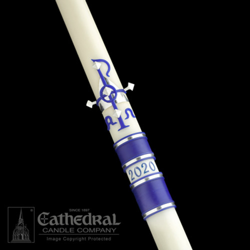 Messiah SCULPTWAX Paschal Candle | 51% Beeswax | All Sizes