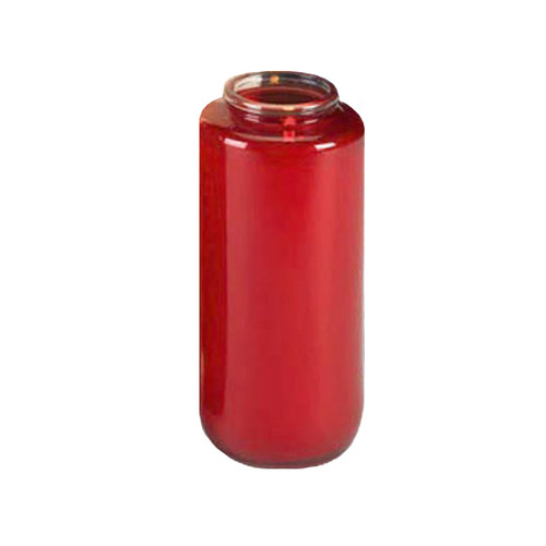 6 Day Ruby Gleamlight Candles   Case of 12
