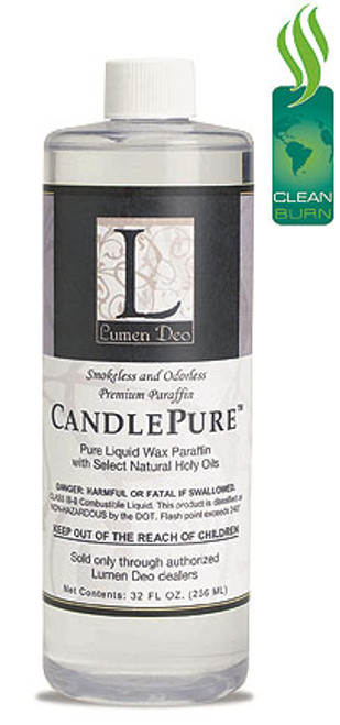 1 Quart (32 oz.) CandlePure Paraffin Oil | Case of 12