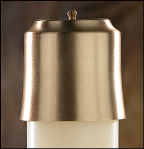 "2"" Lumen Deo Brass Follower 