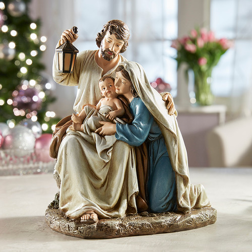 """9"""" Blessed Holy Family Figure 