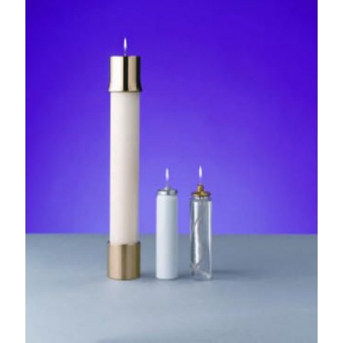 "1 7/8"" Lux Mundi Oil Candle Shell 