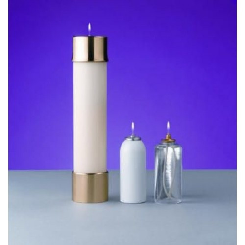 """2"""" Lux Mundi Oil Candle Shell 