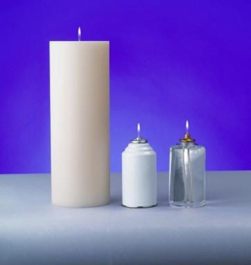 "4 1/2"" Lux Mundi Oil Candle Shell 