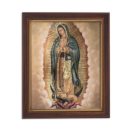 "12.5"" Our Lady Of Guadalupe Framed Print"