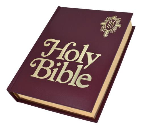 NABRE Catholic Family Bible | Burgundy | Engrave