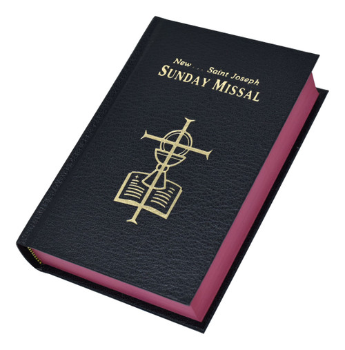 St. Joseph Sunday Missal | Black | Engrave