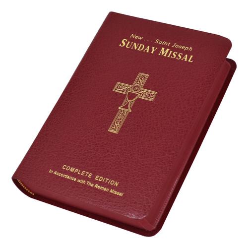 St. Joseph Sunday Missal Canadian Edition | Burgundy
