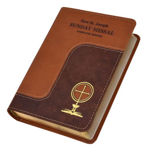 St. Joseph Sunday Missal | Brown