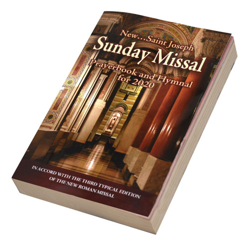 St. Joseph Sunday Missal   Annual Prayerbook And Hymnal For 2020