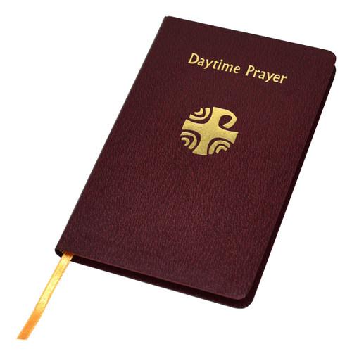 Daytime Prayer | Burgundy Imitation Leather