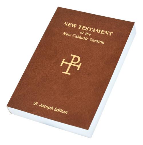 St. Joseph New Catholic Version New Testament | Brown | Vest Pocket Edition
