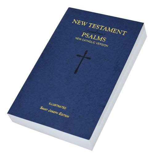 St. Joseph New Catholic Version New Testament And Psalms | Blue