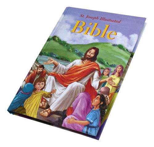 St. Joseph Illustrated Bible | Classic Bible Stories For Children