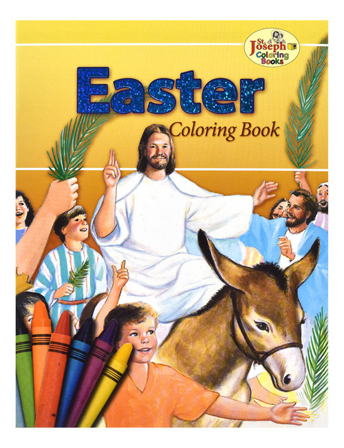 Coloring Book About Easter