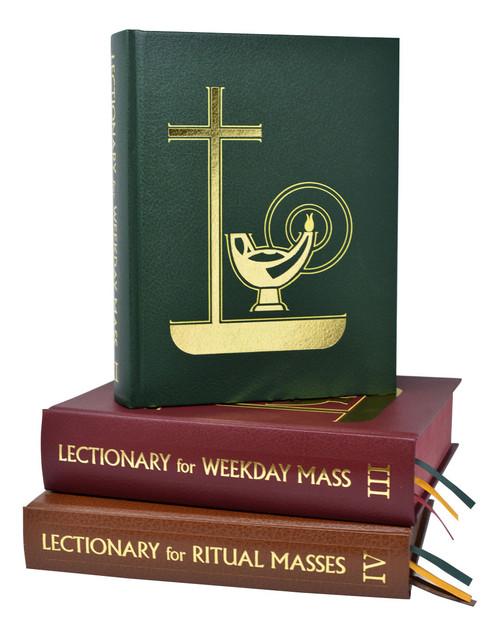 Lectionary Set | Weekday Mass Set Of 3(Pulpit)