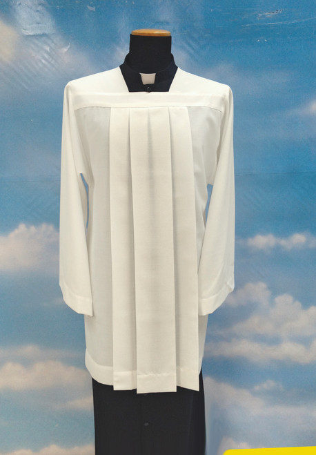 #084 Altar Server Surplice | Mixed Wool