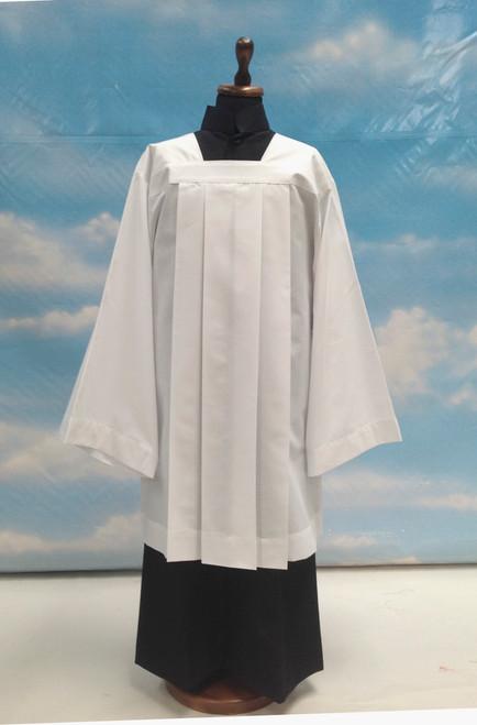 #085 Plain Altar Server Surplice | Poly/Cotton