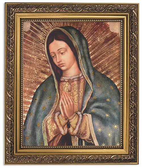 """12.5"""" Our Lady Of Guadalupe Focus Framed Print 