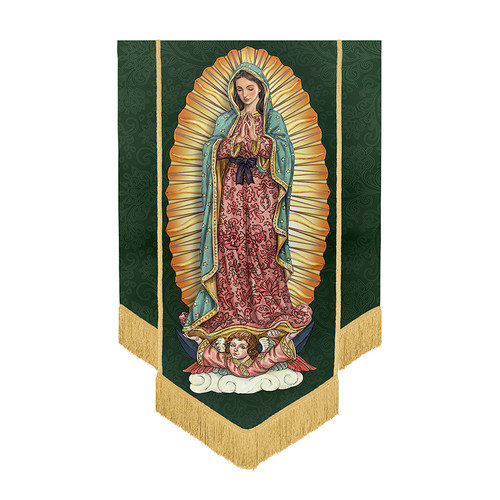 "60"" Our Lady Of Guadalupe Banner"