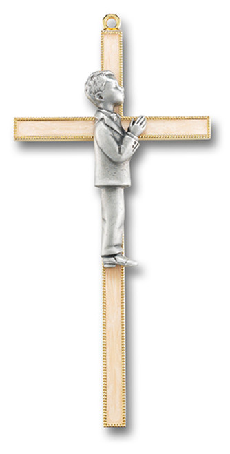 First Communion Cross | Boy