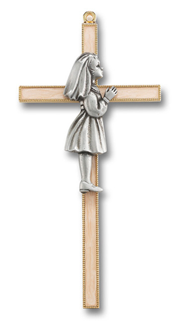 First Communion Cross | Girl