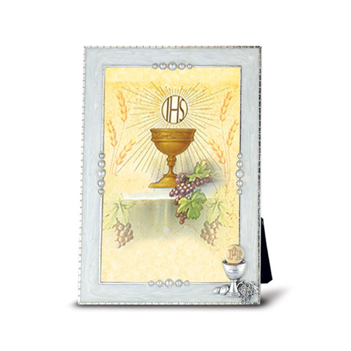 """Silver Plate Communion Chalice Frame 