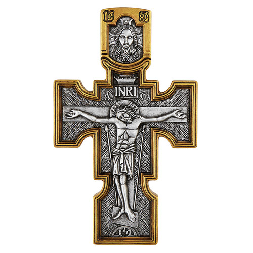 "10"" Orthodox Crucifix   Resin"
