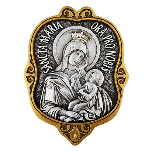 "12"" Our Lady Of Perpetual Help Plaque 