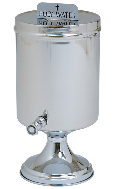 2 Gallon Holy Water Urn | Stainless Steel