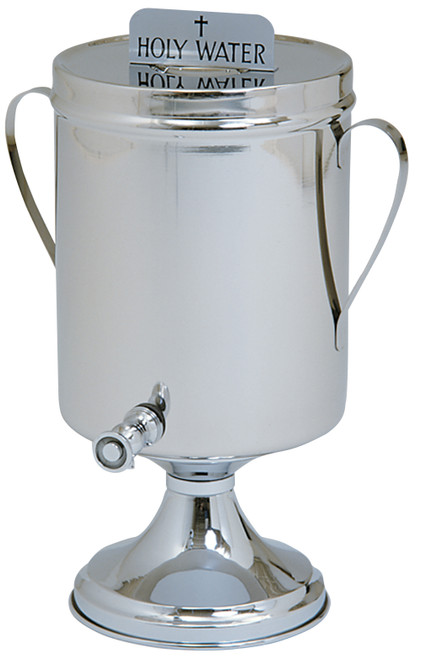2 Gallon Holy Water Urn With Handles | Stainless Steel