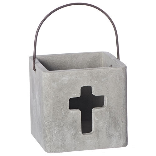 """4"""" Cement Cross Container"""