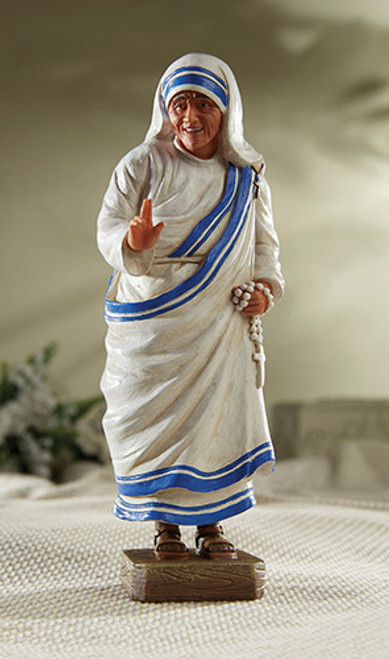 "8"" Saint Teresa of Calcutta Statue 