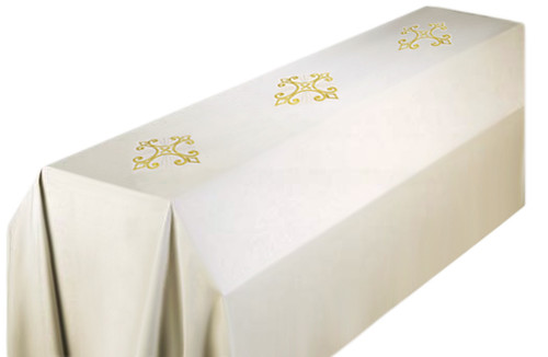 #351 Cross Funeral Pall | 6' x 10' | 100% Polyester