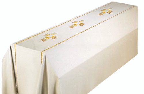 #860 Cross Funeral Pall | 6' x 10' | Wool