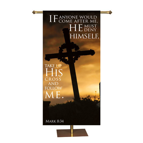 Easter Promise Series Banner | Take Up His Cross |  3' x 6'