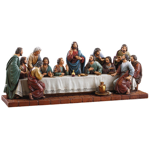 "16""W Last Supper Figure 