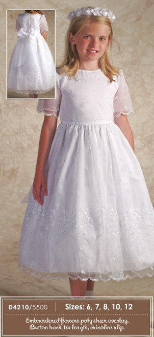 Irish Flower Communion Dress | Size 10