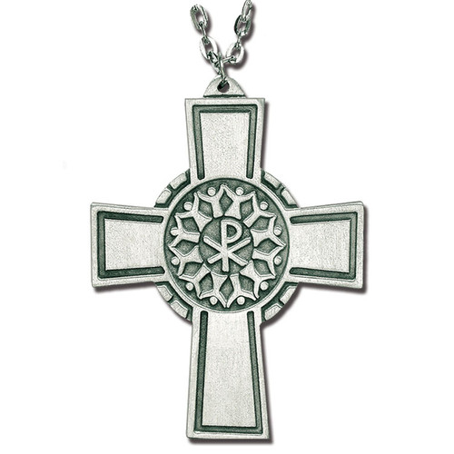 "3"" Pewter Christian Community Cross 