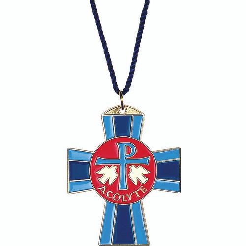 """2"""" Bronze Acolyte Cross"""