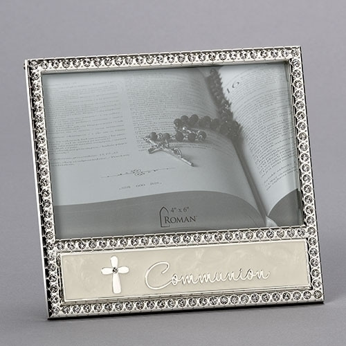 """White Cross Communion Frame 