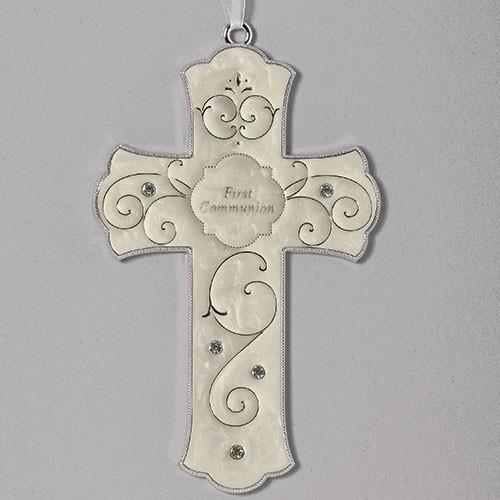 "7"" First Communion Cross"