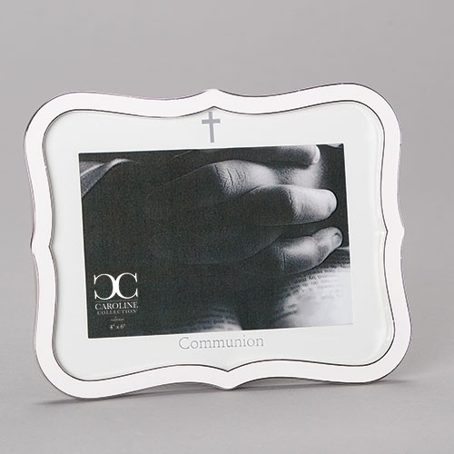 """6.5"""" White Communion Frame 