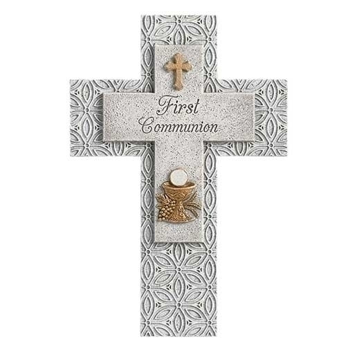 "9"" First Communion Cross"