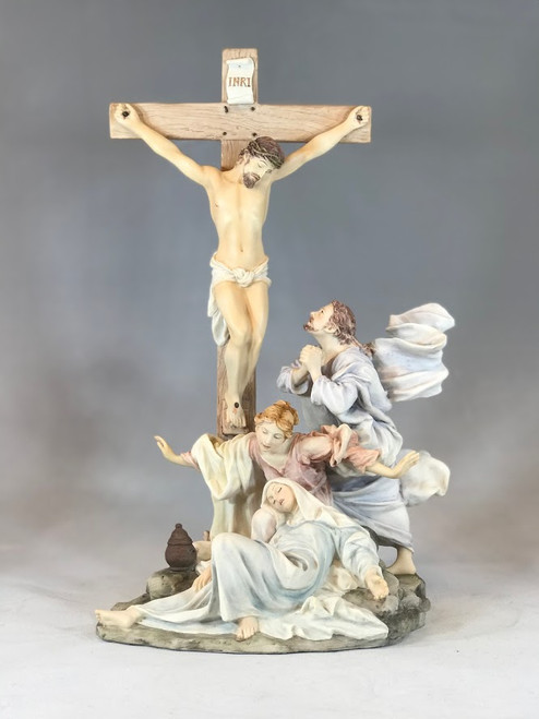 "13"" The Crucifixion Statue 