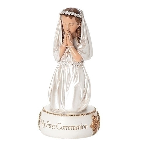 "5.5"" First Communion Girl Figure/Caketopper"